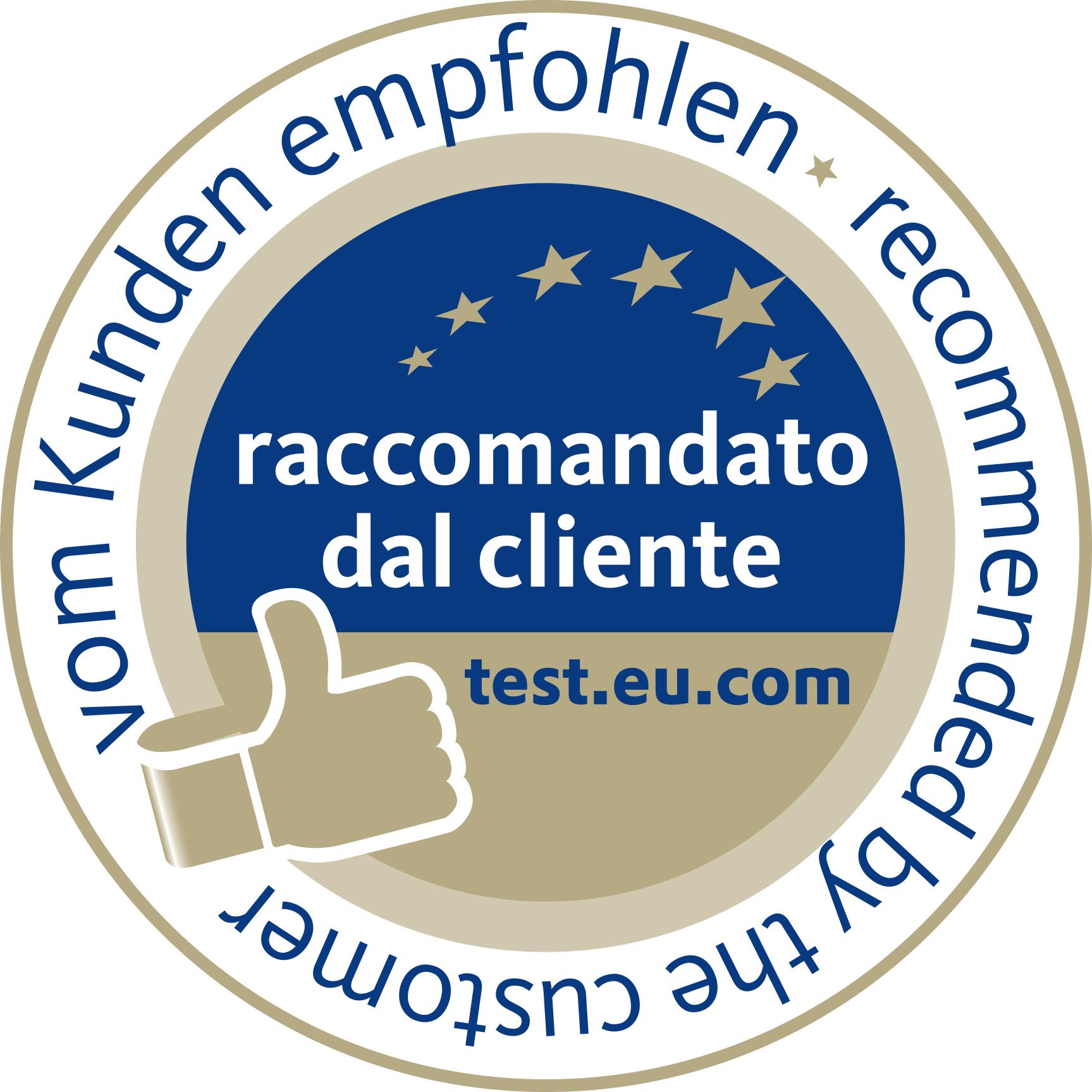 test.eu.com - raccomandato dal cliente
