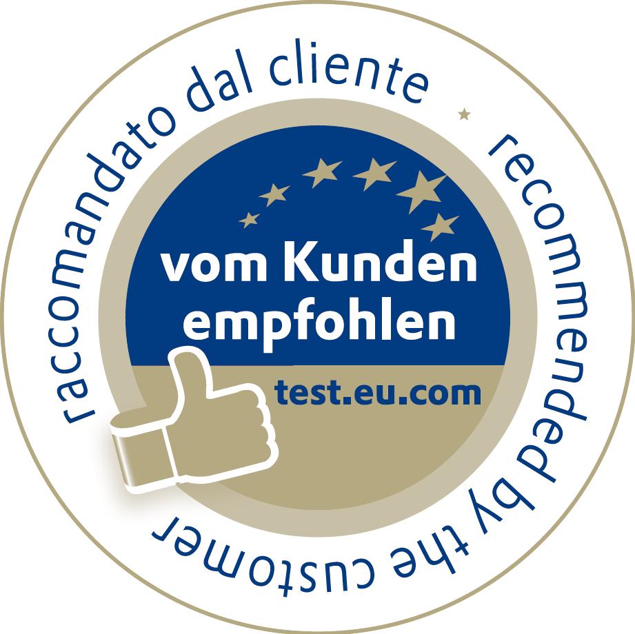 test.eu.com - vom Kunden empfohlen